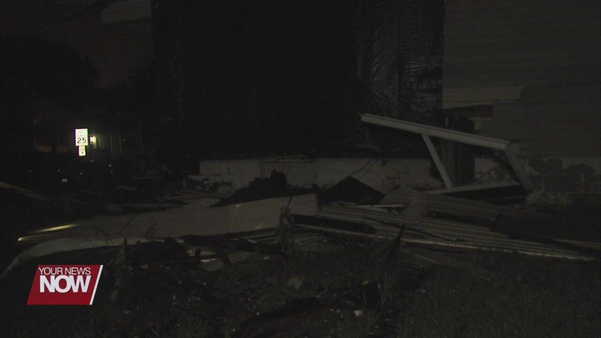 Police chase ends with car crashing into Lima home