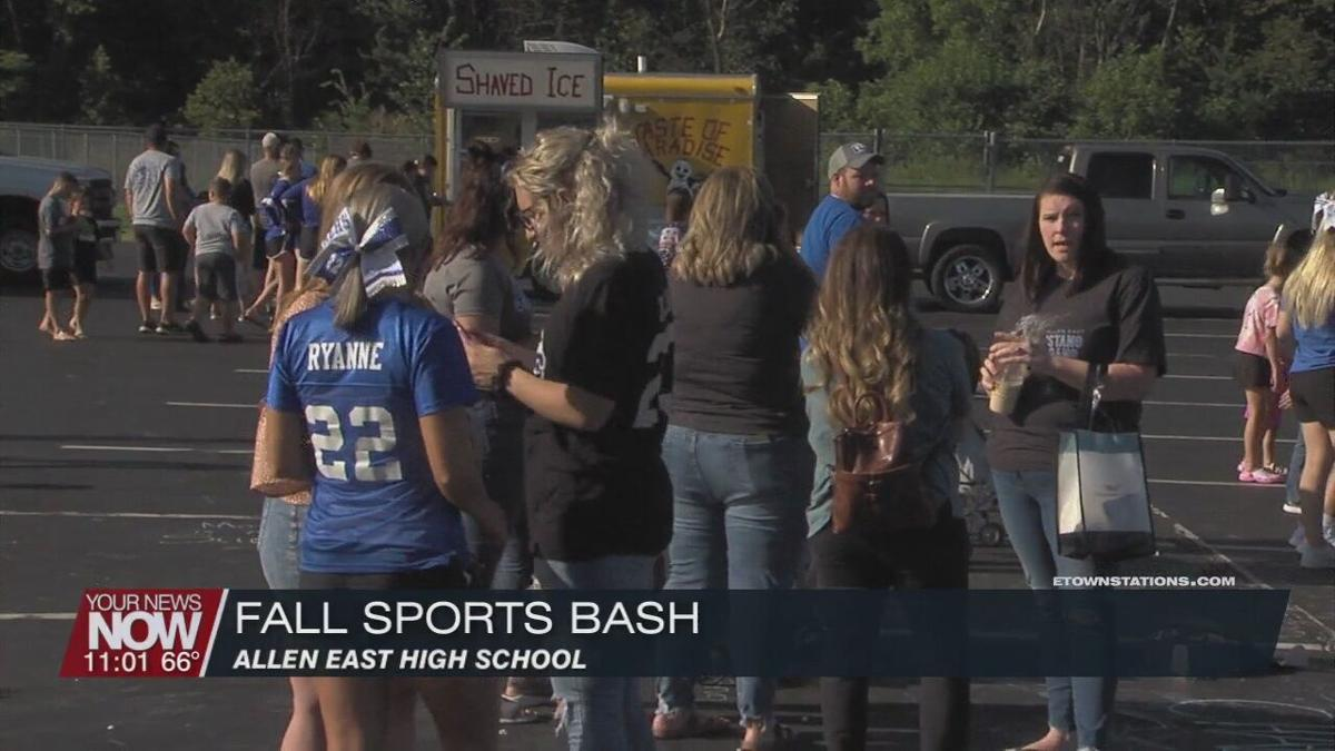 Allen East holds their first ever Fall Sports Bash