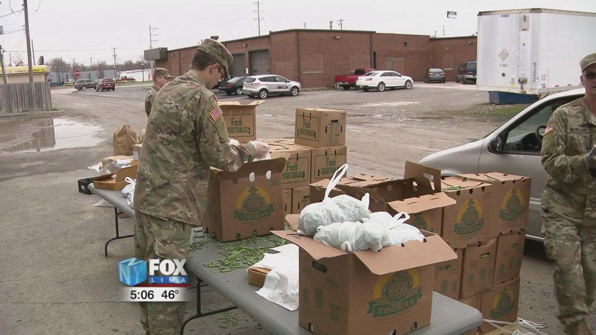 National Guard dispatched to Lima to support the West Ohio Food Bank