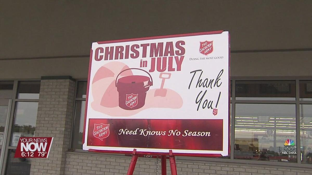 Volunteers needed as the Lima Salvation Army enters last week of Christmas in July Campaign