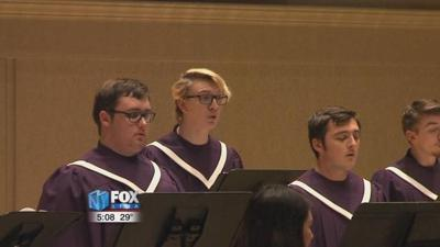Bluffton University music department puts on Christmas Festival performance