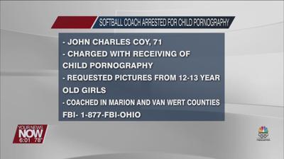 FBI arrests man living in Van Wert County for child pornography