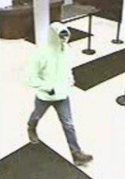 Allen County Sheriff's Office searching for Chase Bank robbery suspect