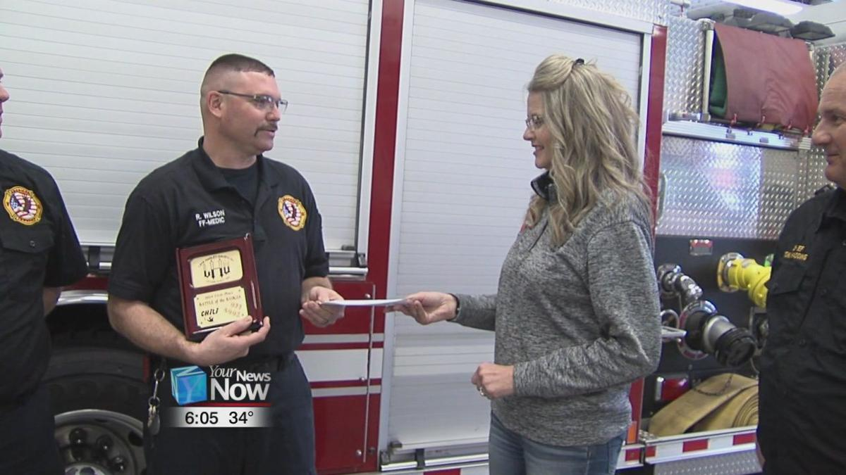 Local fire department giving back to the community
