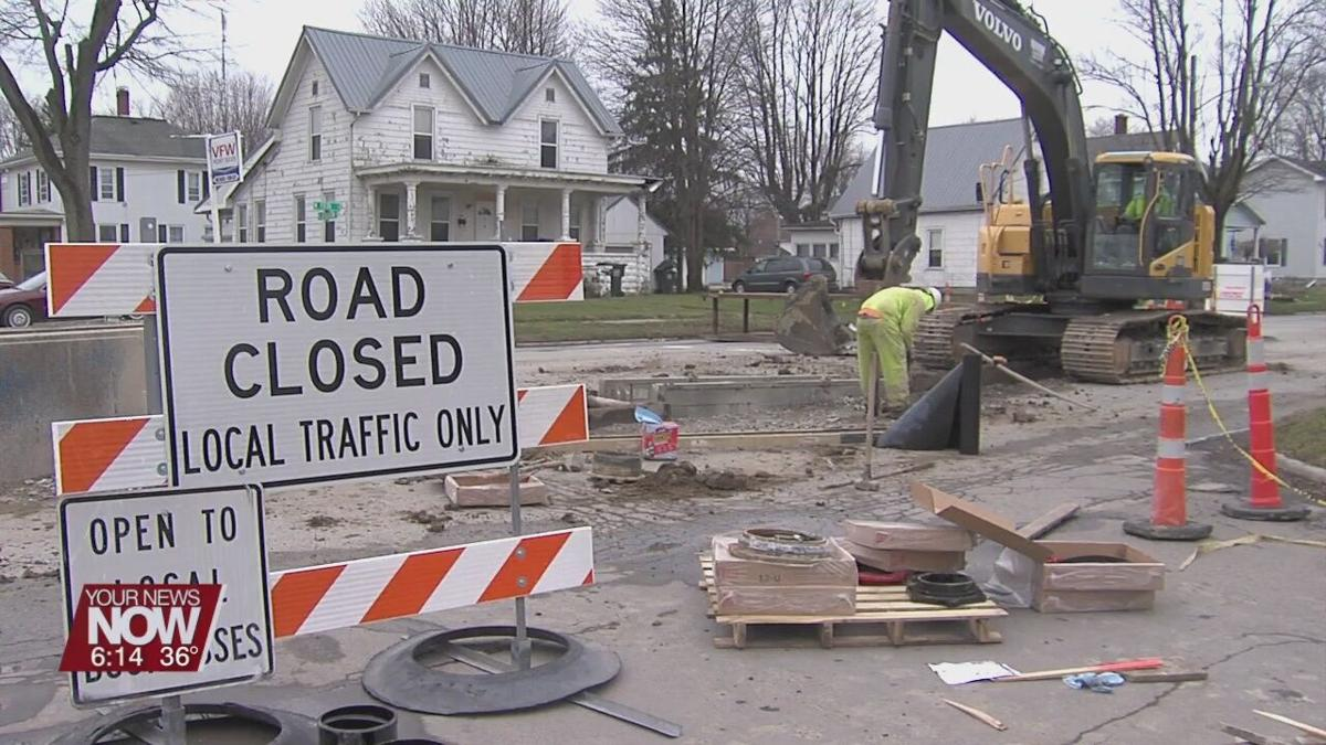 Delphos Fifth Street project replacing old waterlines