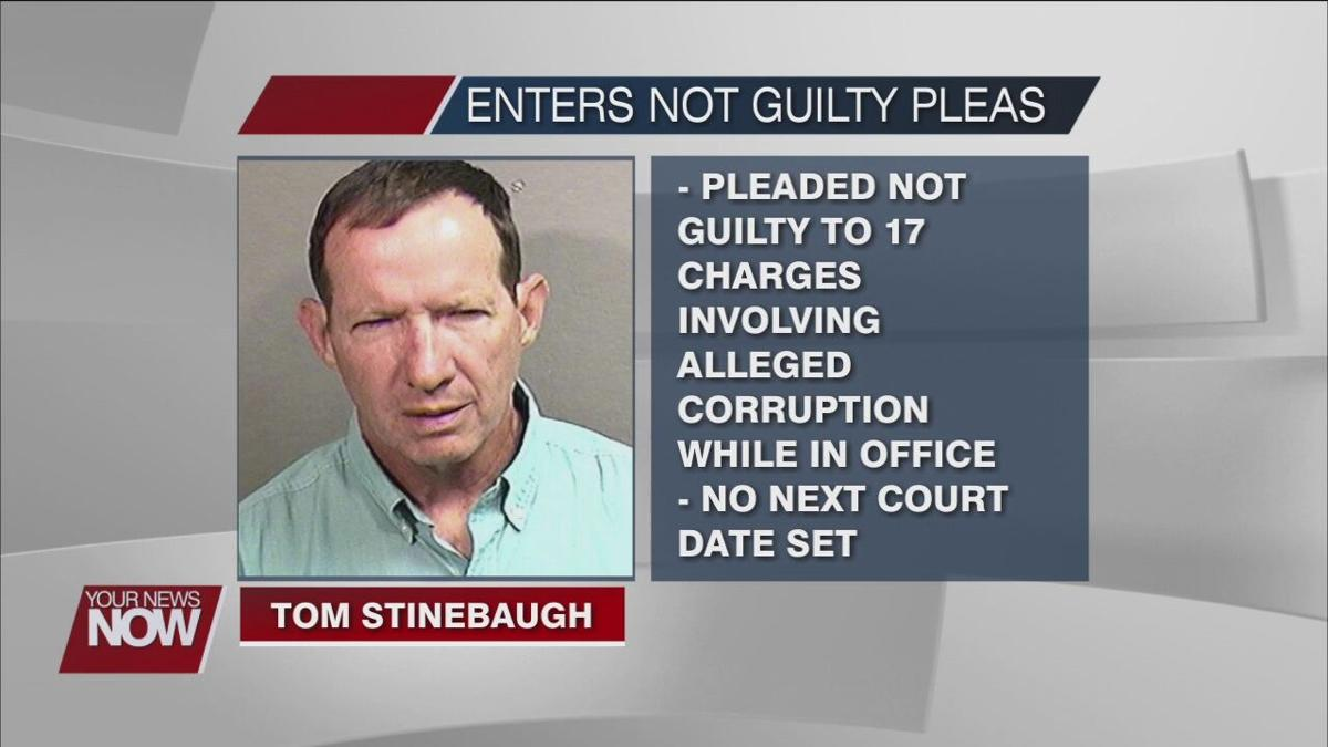 Wapakoneta mayor pleads not guilty to the 17 charges he is facing