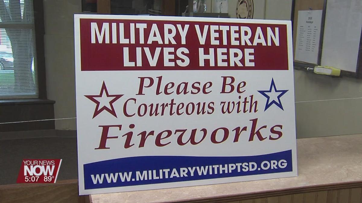 Allen Co. Veterans Service Commission says to warn veterans before lighting fireworks
