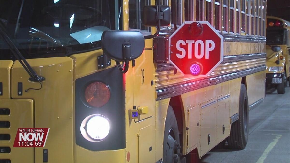 Ohio State Highway Patrol reminding people about bus safety