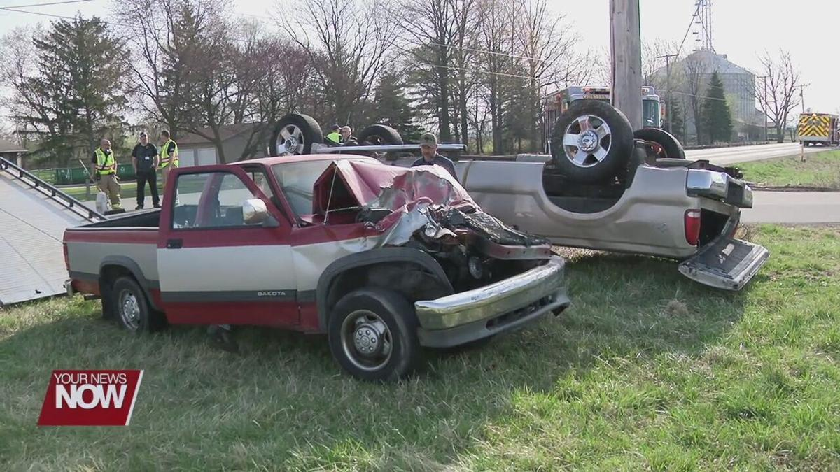 One transported after two vehicle crash at intersection of Elida and Redd Road