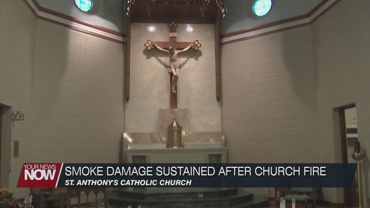Thursday fire causes smoke damage to Columbus Grove church