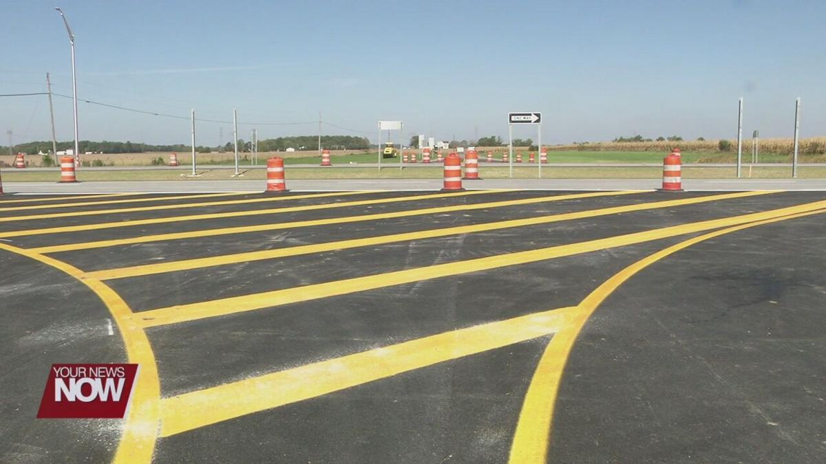 ODOT, Highway Patrol reveal new RCUT traffic pattern to U.S 30/Thayer Road