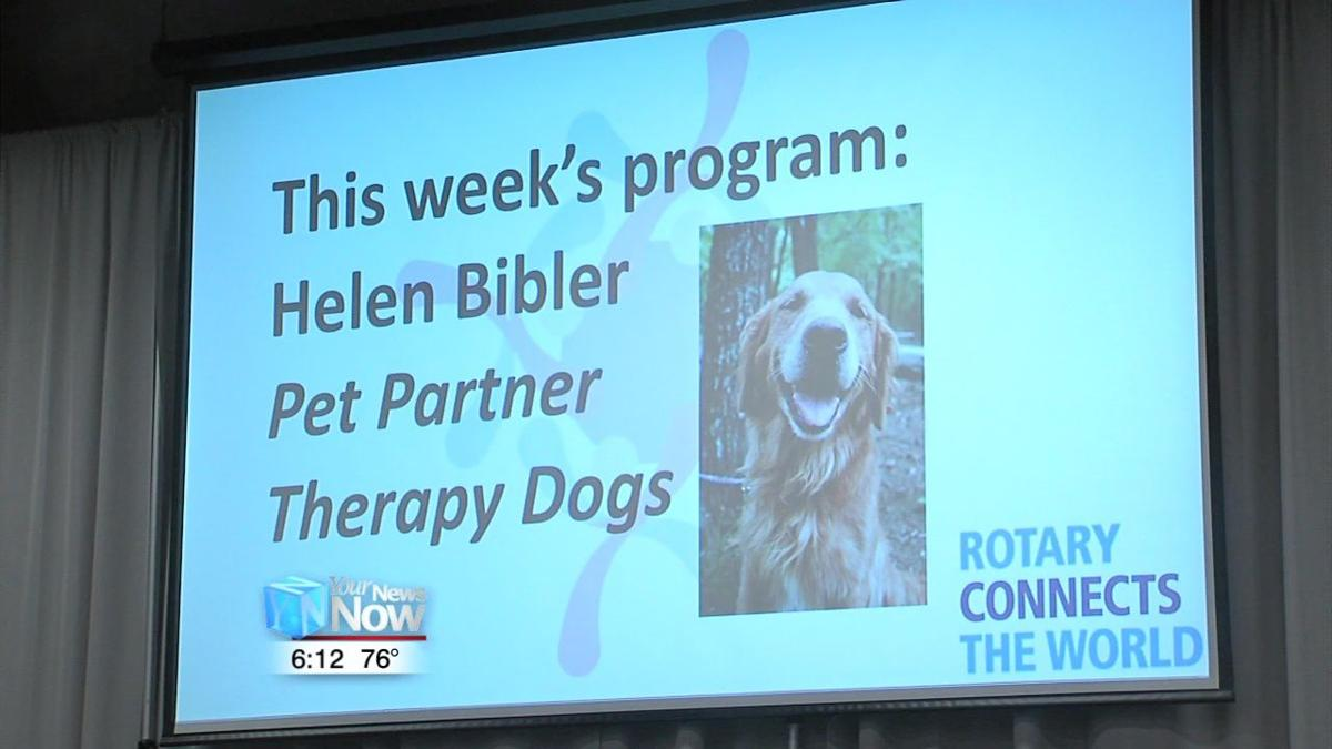 Rotary Club learns about dog therapy program 1.jpg