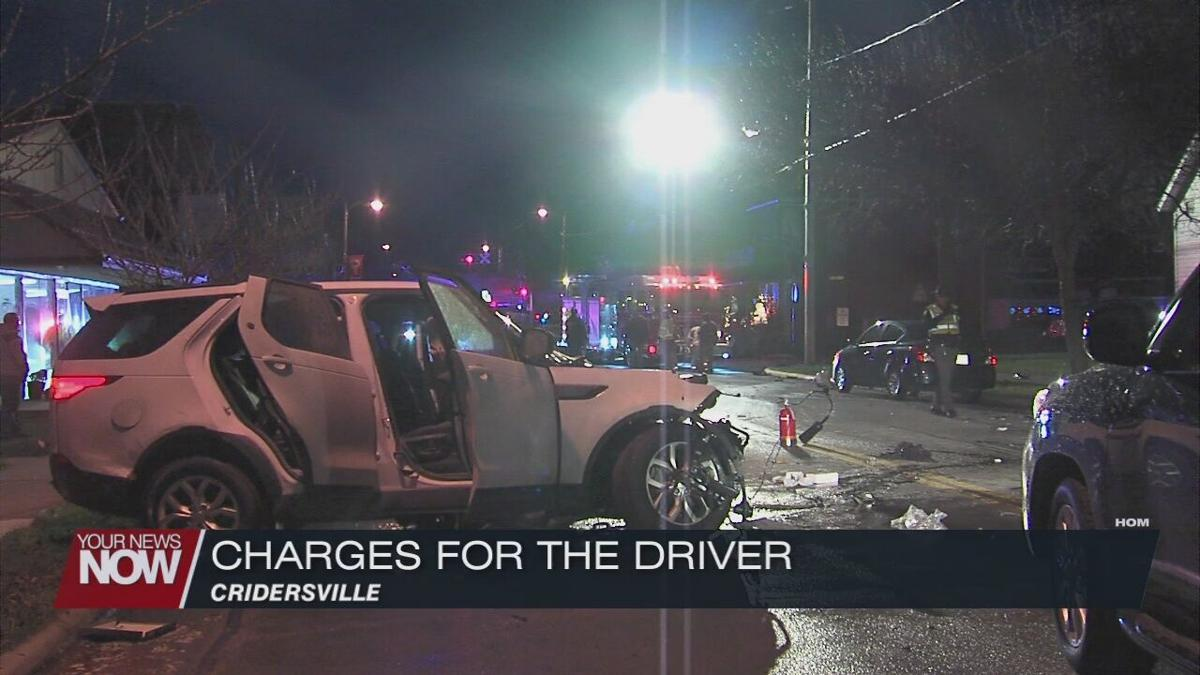 Driver charged in destructive Cridersville crash