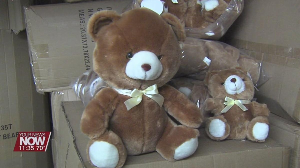 A new shipment of teddy bears arrive for kids in Lima hospitals