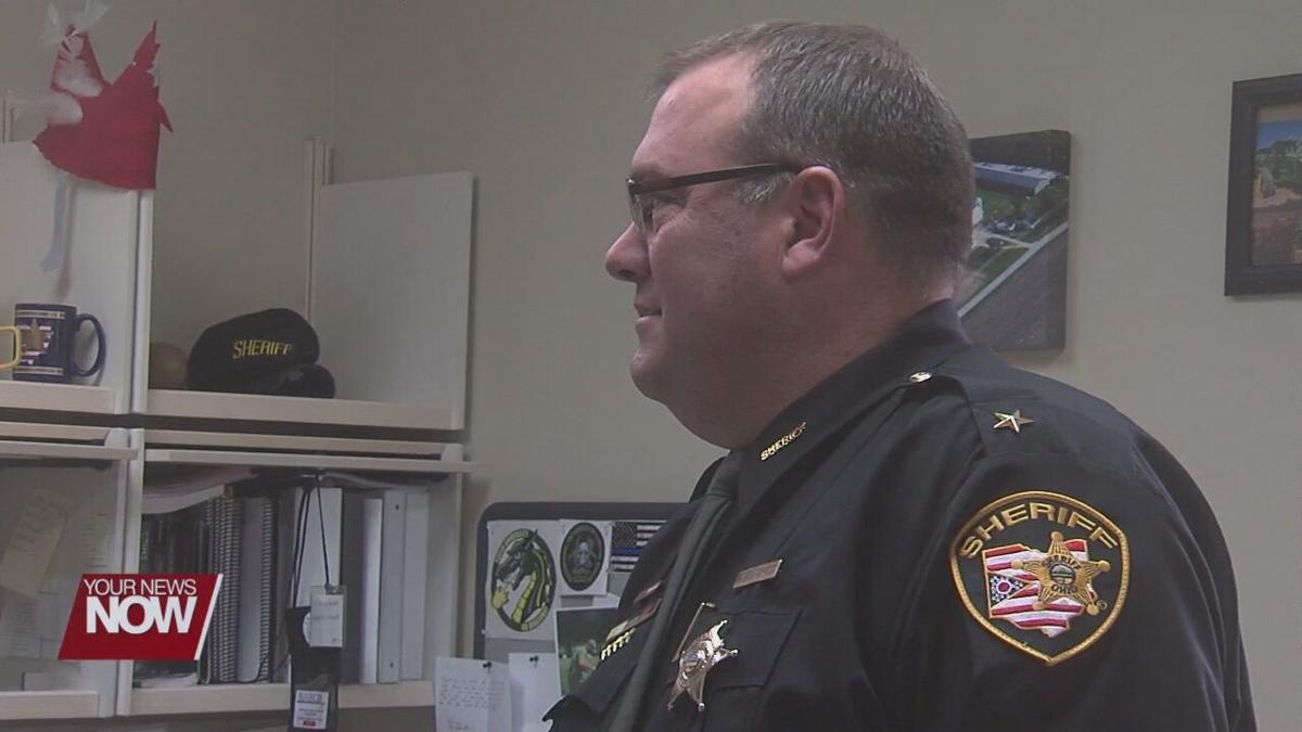 Mike Vorhees finishes first week as Sheriff of Auglaize County