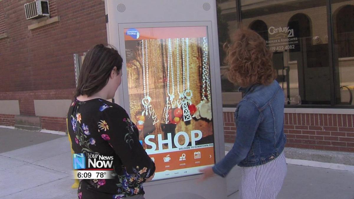 A new video kiosk installed in downtown Findlay is making it easier than ever to see what the city has to offer.jpg