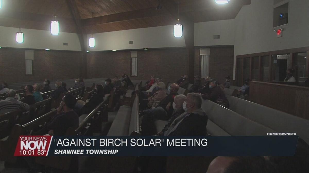 """""""Against Birch Solar"""" hosted a 2nd meeting to discuss Lightsource bp project"""