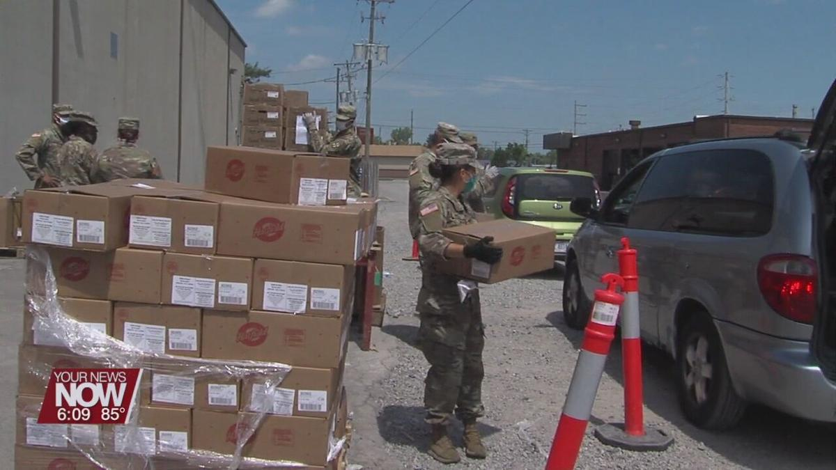 West Ohio Food Bank works to meet food need during pandemic