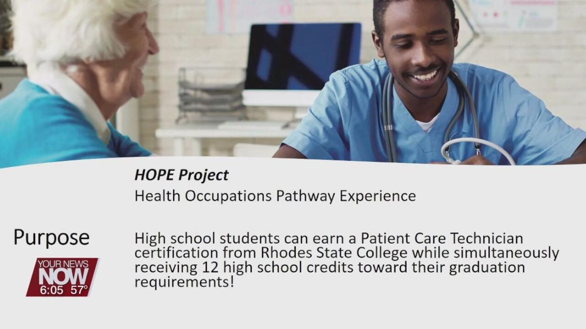 Rhodes State Partners with local schools and hospitals to launch patient care training