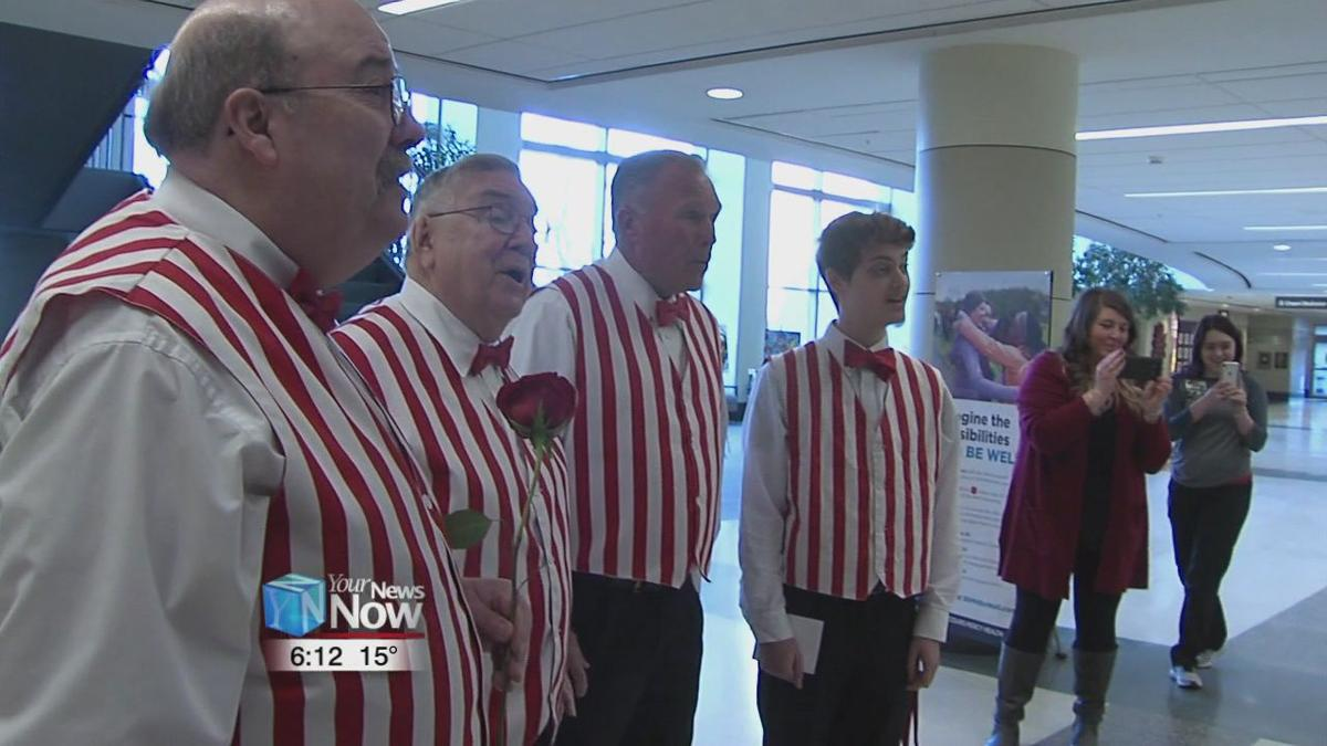Lima Beane Barbershop Chorus spreading the love with their Singing Valentines