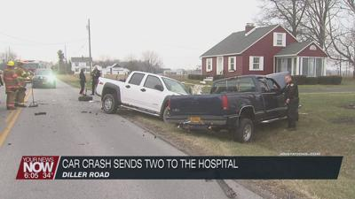 Car crash in Elida sends two people to the hospital