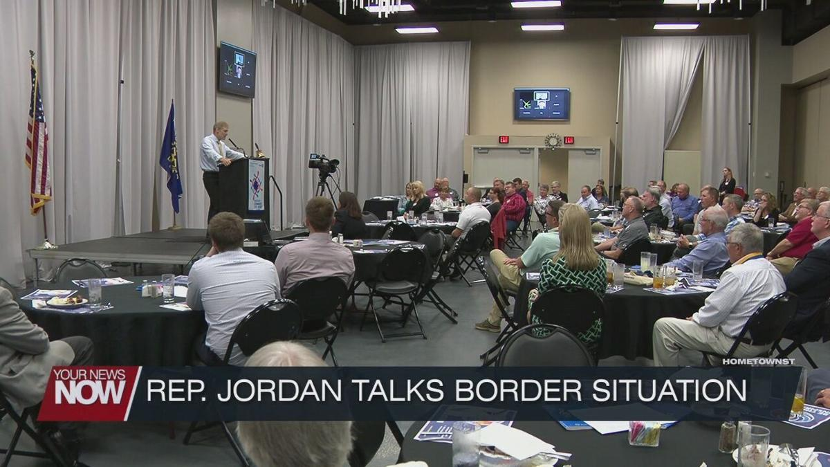 Rep. Jim Jordan speaks to Lima Rotary about southern border