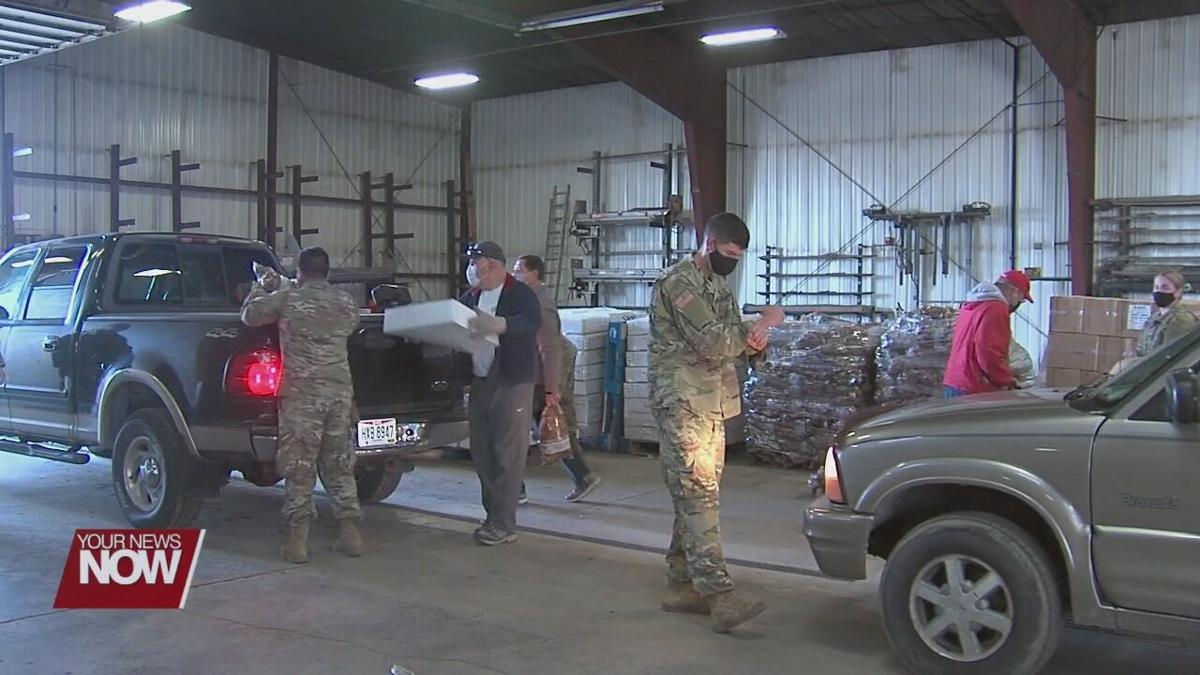 1 year of Ohio National Guard helping the WOFB
