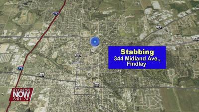 Findlay Police search for suspect in a Sunday morning stabbing