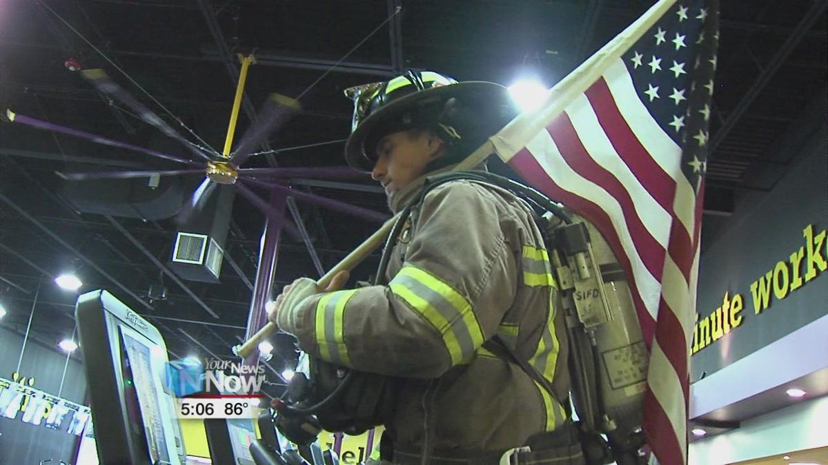 Local firefigher gears up to honor 911 first responders1.jpg