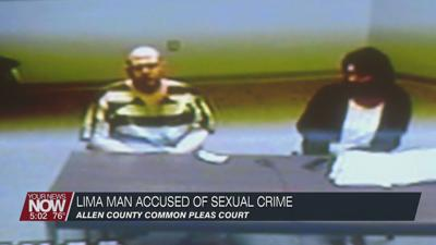 Lima man pleads not guilty to sexual contact with a minor