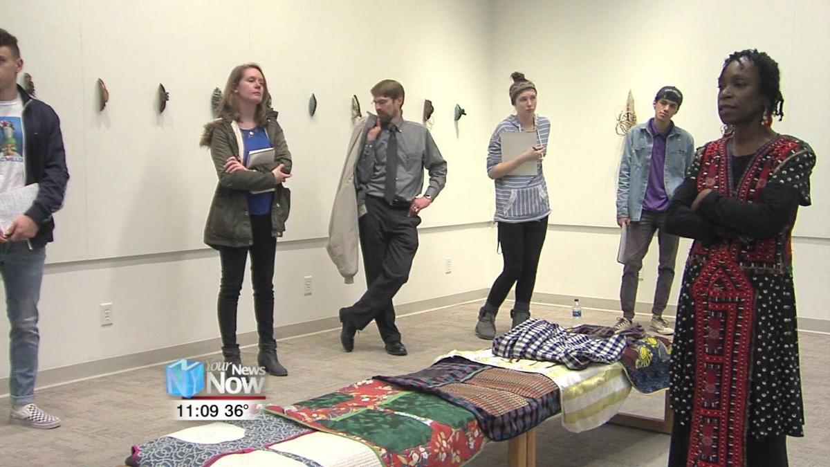 Unspeakable exhibit at Bluffton University speaks to violence against women2.jpg
