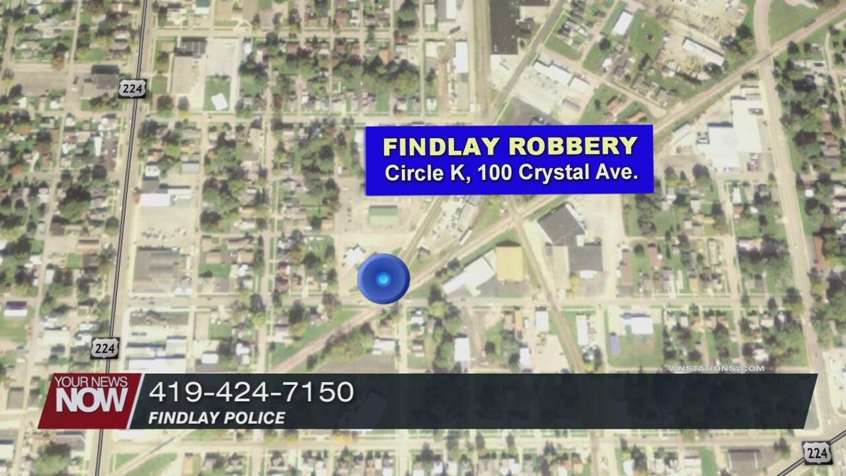 Circle K in Findlay robbed early Wednesday morning