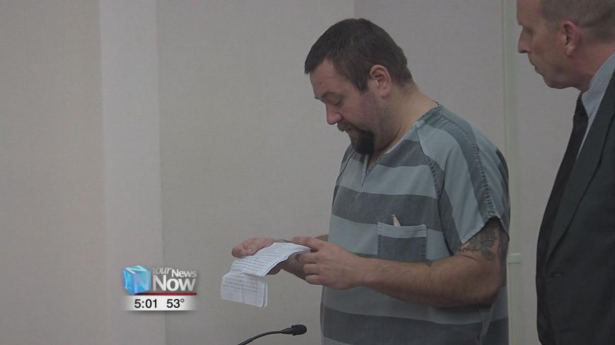 Lima man sentenced for attempting to hit his wife with a car