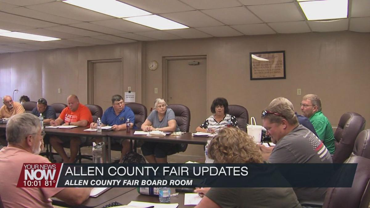 Allen County Fair Board holds special meeting on fair updates