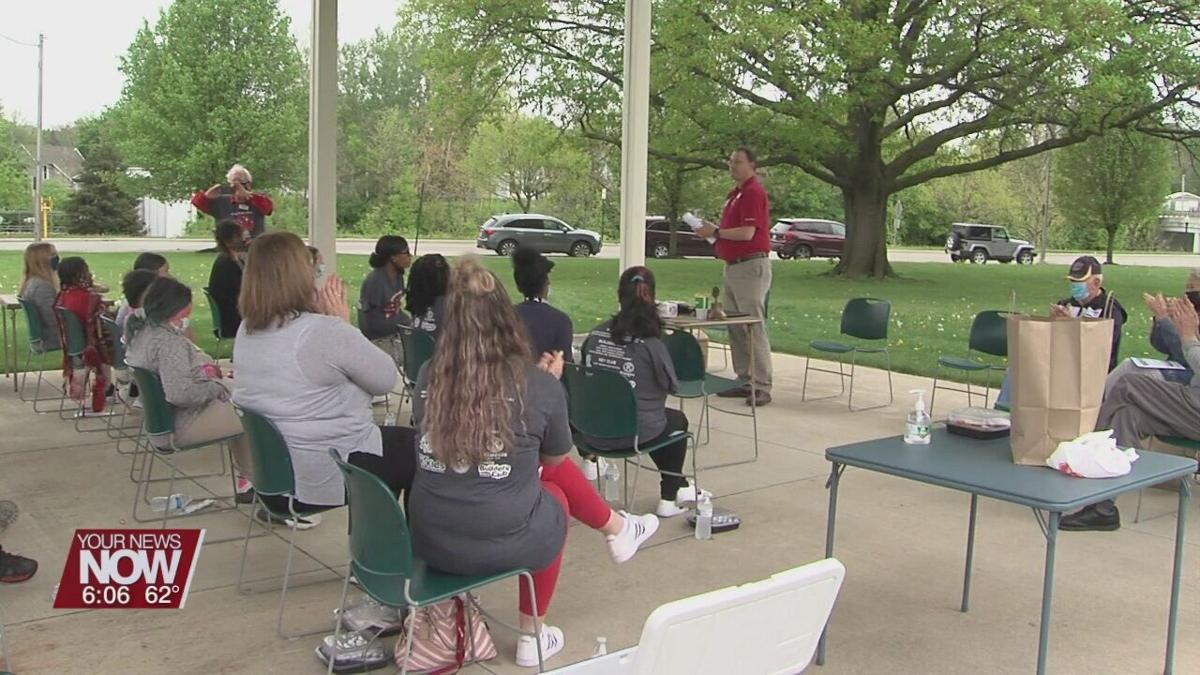 Lima Kiwanis takes time to thank students in their kids clubs for their hard work