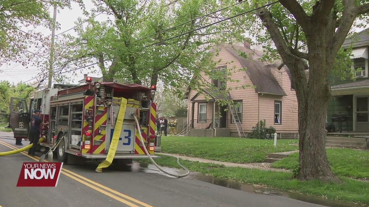 Fire causes damage to Lima duplex
