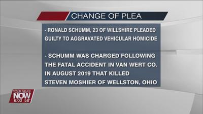 Willshire man pleaded guilty to Aggravated Vehicular Homicide