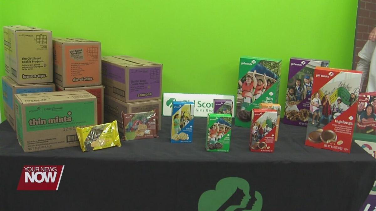 Girl Scout cookies have returned in the Greater Lima Area
