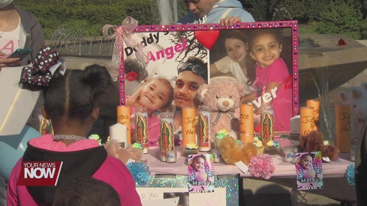 Friends and family hold vigil to remember Ma'Laya Dewitt
