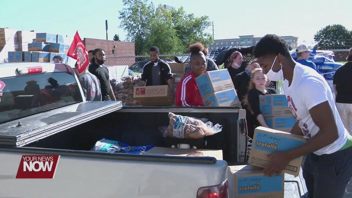Event at West Ohio Food Bank distributes food, resources, and more