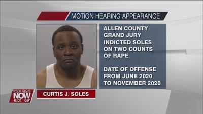 Lima man indicted on two counts of rape appears for motion to suppress hearing