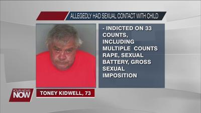 Celina man facing 33 charges for having sexual contact with young girl