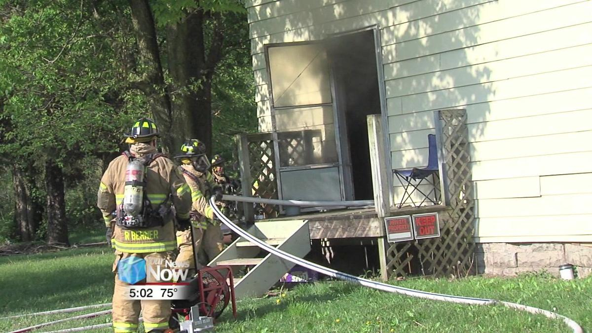 Family of four displaced after morning Lima fire 2.jpg