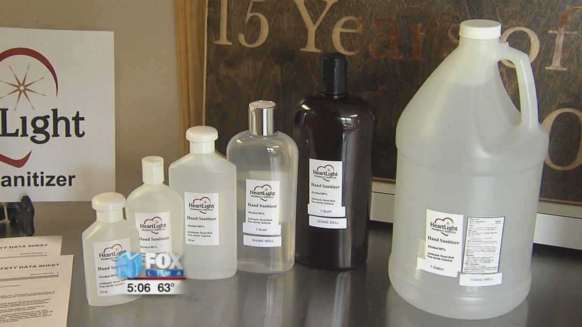 Area pharmacy stepping up to make hand sanitizer