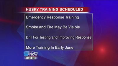 Fire training to be held at Husky Lima Refinery