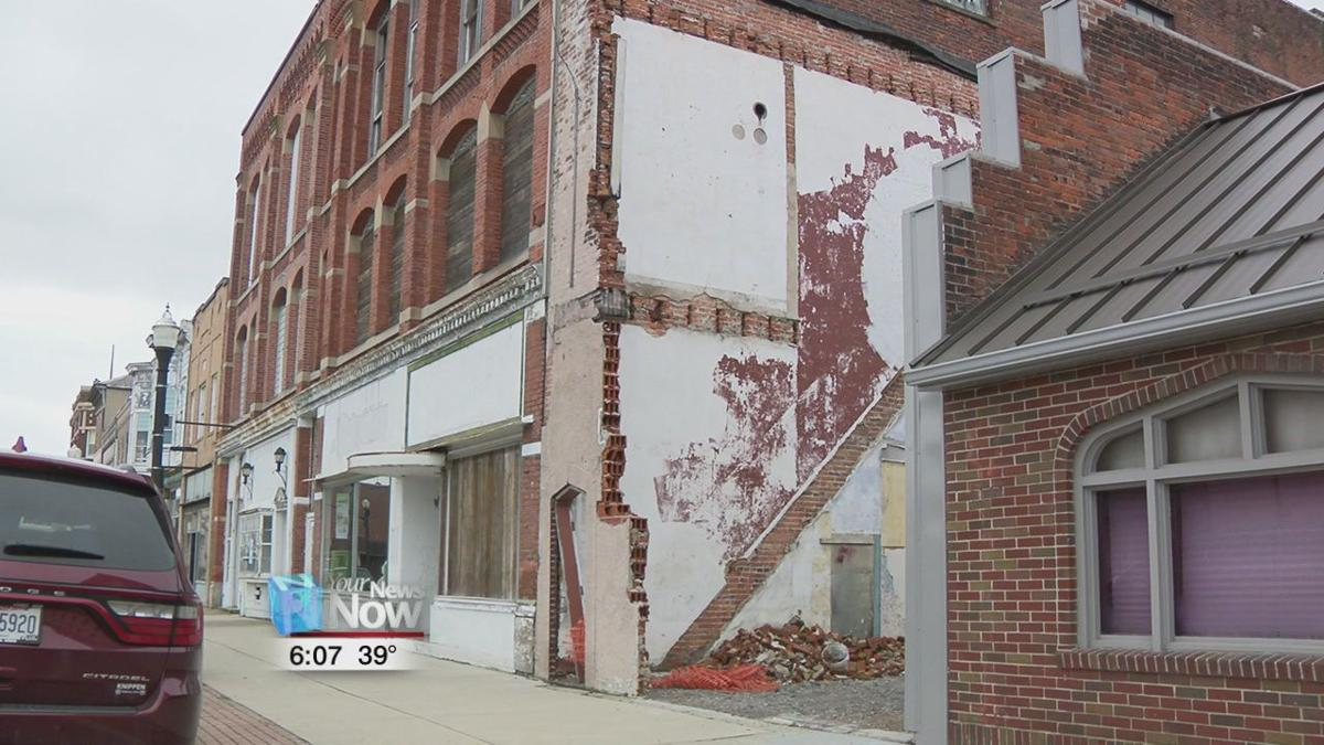 Downtown Delphos buildings being inspected for structural integrity.jpg