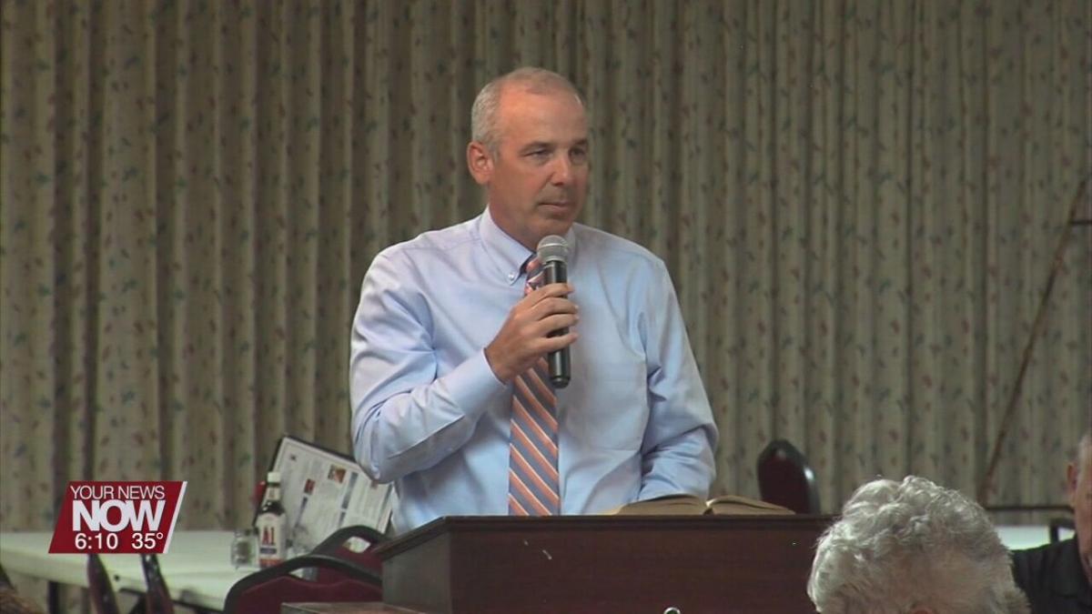 Huffman sworn in as Ohio Senate President
