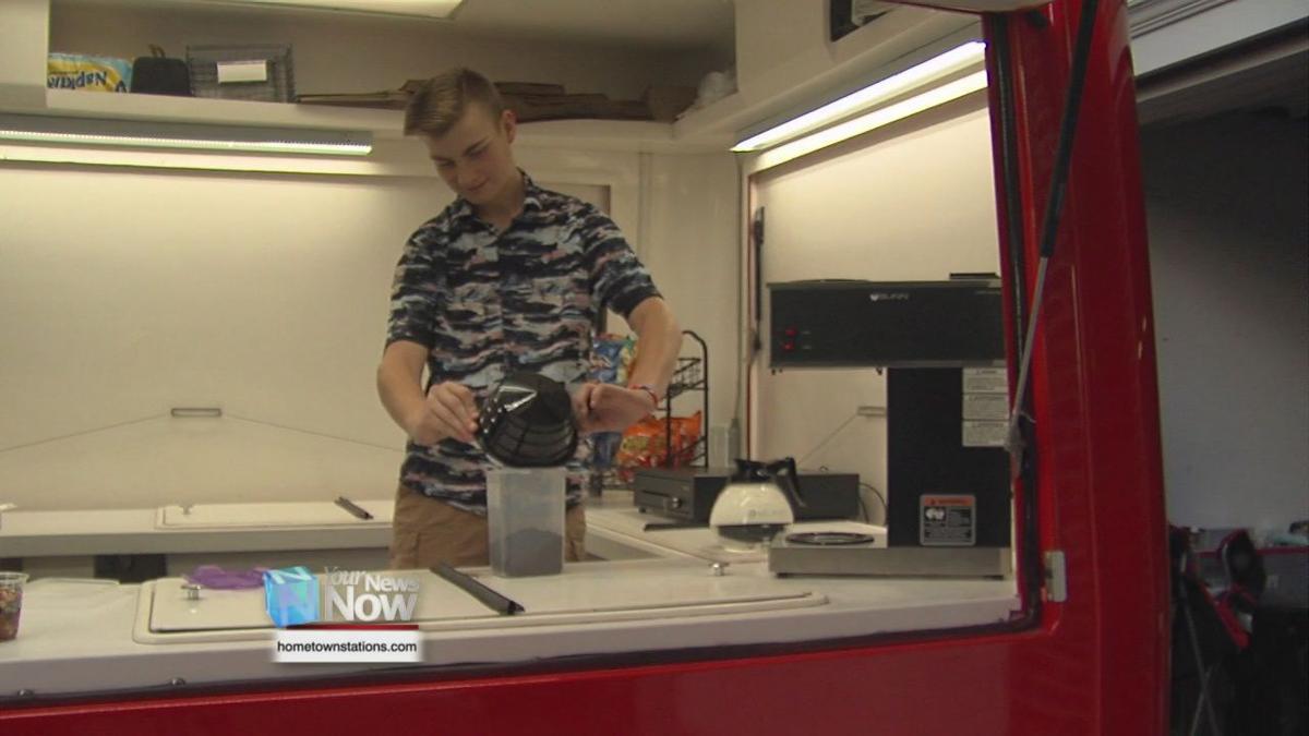 Shawnee teen opens food truck business