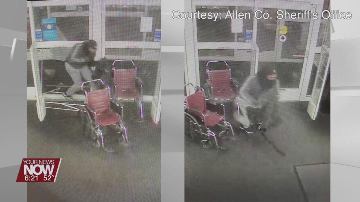 Allen Co. Crime Stoppers looking for information on Feb. 25th Kohls break-in
