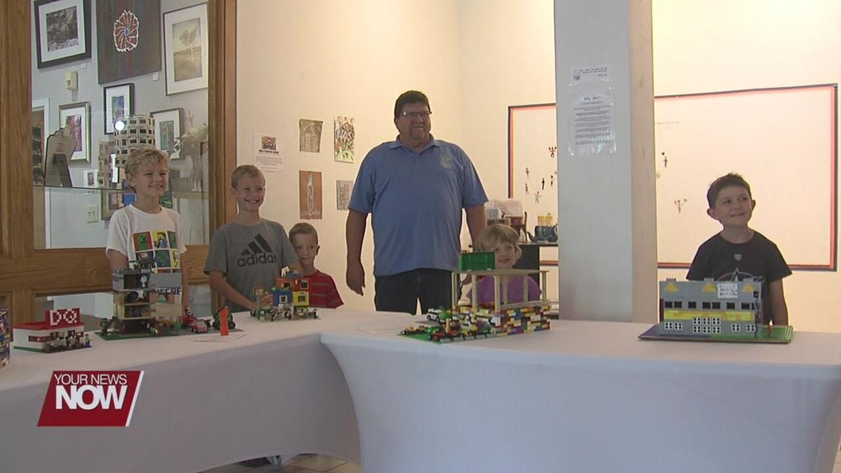 Artspace Lima's Lego contest shows creativity on full display